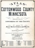 Title Page, Cottonwood County 1926